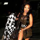 Keyshia Cole at Catch LA in West Hollywood - 454 x 729