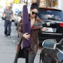 Vanessa Hudgens leaving a yoga class in Studio City, California on December 26th, 2012