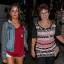 Jenelle Evans leaving the Saddle Ranch Restaurant in West Hollywood Saturday August 29,2015 - 454 x 340