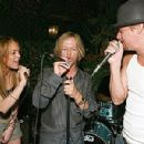 Kid Rock on the stage and at the party