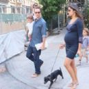 Matthew McConaughey, wife Camila Alves, and their children Levi and Vida out and about in New York City (August 26)