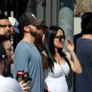 Nikki and Brie Bella – Seen at the Farmers Market in Studio City