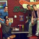 Chris Klein, Thomas Ian Nicholas, Eddie Kaye Thomas and Jason Biggs in Universal's American Pie 2 - 2001 in Universal's American Pie 2 - 2001