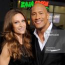 Lauren Hashian and Dwayne Johnson - 454 x 424