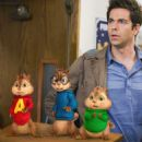 Alvin and the Chipmunks: The Squeakquel. Simon (voice by Matthew Gray Gubler), Alvin (voice by Justin Long) and Theodore (voice by Jesse McCartney) arrive for their first day in school. Photo credit: Twentieth Century Fox