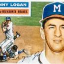 Johnny Logan 1956 Topps Card - 400 x 275