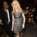 Dakota Fanning took part in Fashion's Night Out last night, September 8, in Manhattan. The I Am Sam star attended the Marc Jacobs event