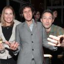 Mike D and Tamra Davis with Adam Horovitz