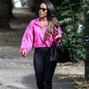 Alex Scott MBE seen out and about in North London