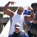 Dwayne Johnson- March 28, 2016-The Set of Baywatch - 451 x 600