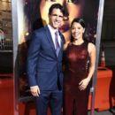 Joe LoCicero and Gina Rodriguez- Premiere Of Columbia Pictures' 'Miss Bala' - 400 x 600