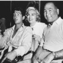 Hal B. Wallis and Lizabeth Scott with Dean Martin