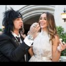 Nikki Sixx & Courtney Bingham wedding day