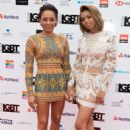 Melanie Brown and Phoenix Chi Gulzar – 2018 LGBT Awards in London - 454 x 681
