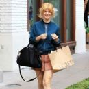 Arden Myrin was in a bubbly mood during a shopping trip to The Grove in Hollywood, California on December 12, 2016 - 422 x 600