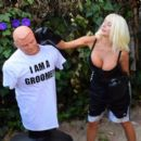 Courtney Stodden – Takes shots at her ex Doug Hutchinson punching shirt in Beverly Hills - 454 x 392