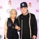 Blac Chyna and Rob Karashian at Blac Chyna's Chymoji App Launch Party at The Hard Rock Cafe in Los Angeles, California - May 10, 2016 - 454 x 566