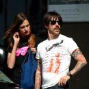 Anthony Kiedis and Nika (Model) - 454 x 646