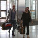 Alicia Vikander and Michael Fassbender at Toronto Airport July 18, 2017