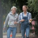 Yvonne Strahovski and Noomi Rapace – Filming 'Angel Of Mine' in Melbourne - 454 x 681