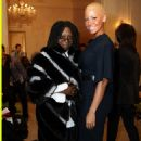 Amber Rose at the Laura Smalls Fall/Winter 2010 Presentation at the Plaza Hotel in New York City - February 18, 2010 - 454 x 679