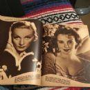 Marlene Dietrich, Ida Lupino - Movie Mirror Magazine Pictorial [United States] (May 1936) - 454 x 605