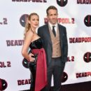 Ryan Reynolds and Blake Lively :  'Deadpool 2' New York Screening - 411 x 600