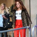 Isla Fisher at BBC Broadcasting House in London - 454 x 734