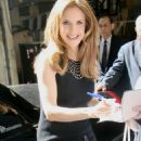 """Kelly Preston - Leaving ABC Studios After Taping """"Live With Regis And Kelly"""" In New York City, 17.06.2008."""