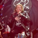 Musician Axl Rose of Guns N' Roses performs onstage during day 2 of the 2016 Coachella Valley Music & Arts Festival Weekend 1 at the Empire Polo Club on April