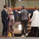 Dakota Johnson, Chris Martin and Drew Barrymore – Leaving Ellen Degeneres Birthday Party in Hollywood