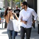 Jesse Metcalfe and Cara Santana shop on Melrose