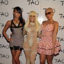 Amber Rose attends Nicki Minaj's 26th Birthday Party at Club Tao in Las Vegas, Nevada - December 9, 2010 - 444 x 600