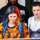 Bella Thorne and Dani Thorne at a Sugar Factory Event in Miami 03/13/2019