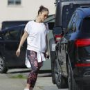Minka Kelly is spotted hitting the gym in Los Angeles, California on March 23, 2017 - 454 x 540