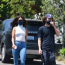 Eiza Gonzalez and Timothee Chalamet – Out for a hike in Los Angeles - 454 x 681