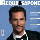 Matthew McConaughey - Acqua & Sapone Magazine Cover [Italy] (March 2014)