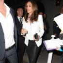 Cindy Crawford Leaving Craigs 4th Anniversary Party In Los Angeles