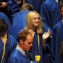 Dakota Fanning High School Graduation at Disney Hall June 6, 2011