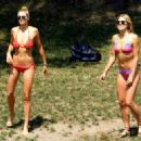 Jessica and Ashley Hart in Central Park New York