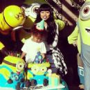 Blac Chyna and Tyga Celebrate King Cairo's 2nd Birthday in Calabasas - October 16, 2014 - 454 x 459