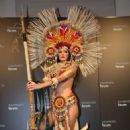 Andrea Rosales: Miss Earth 2015 National Costumes