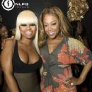 Blac Chyna Attends Missy Elliott's Birthday Party in Hallandale Beach, FL. at Club Santo - June 28, 2011