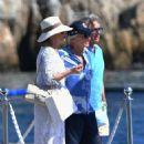 Catherine Zeta Jones on holiday in France - 454 x 697