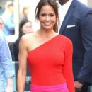 Brooke Burke – Arrives at AOL Build Series in New York