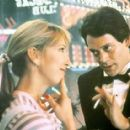 Raul Julia and Teri Garr