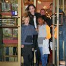 Angelina Jolie Takes Her Girls Shopping (November 21, 2014)
