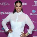 Litzy- Backstage at Telemundo's 'Premios Tu Mundo' Awards 2015