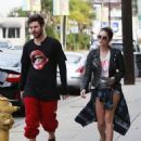 Ashley Benson and Ryan Good in Los Angeles, California (February 4) - 454 x 556