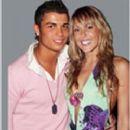 Cristiano Ronaldo and Merche Romero